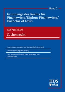 Abbildung von Ackermann | Sachenrecht | 1. Auflage | 2019 | Band 2 | beck-shop.de