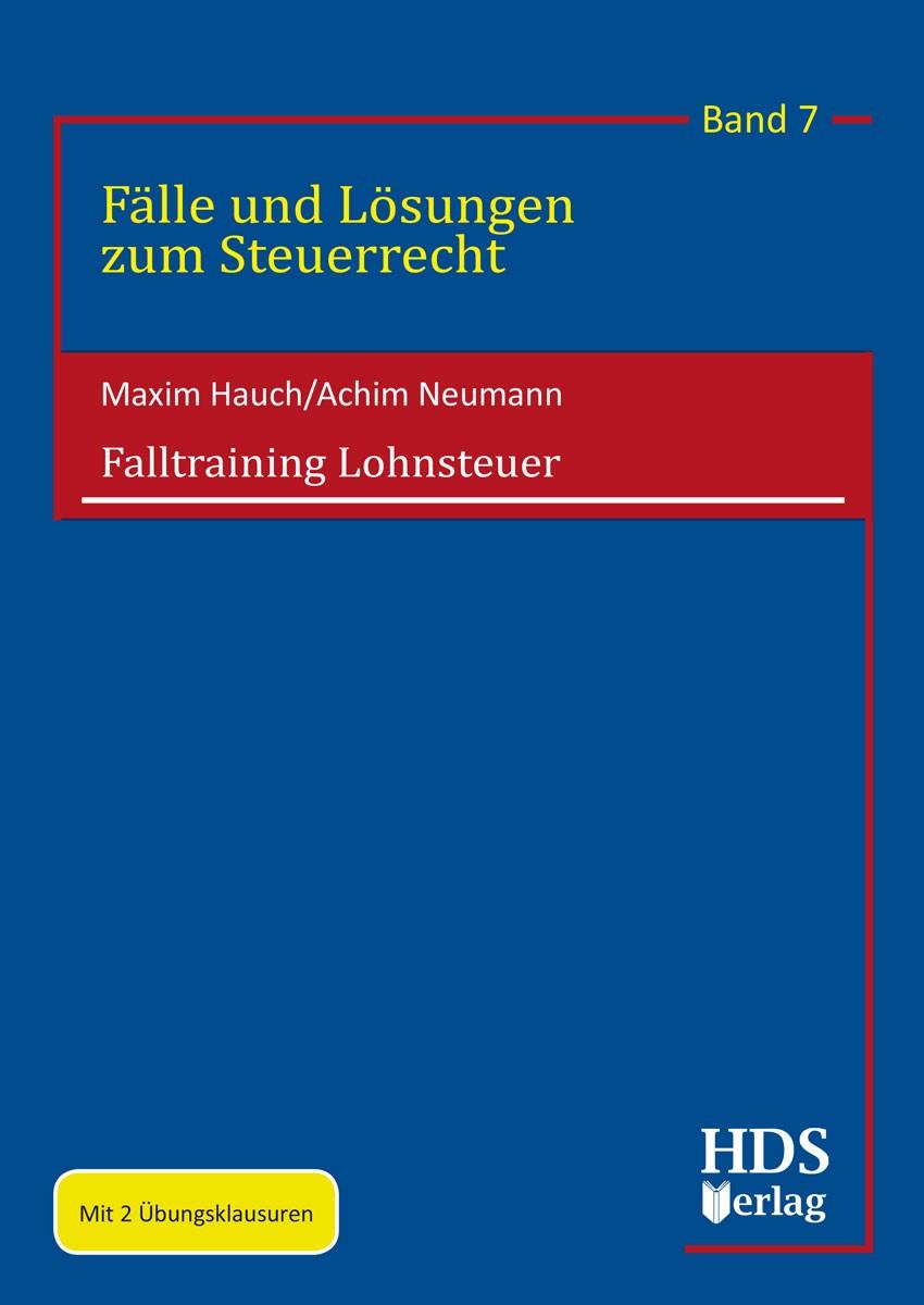 Falltraining Lohnsteuer | Hauch / Neumann, 2018 | Buch (Cover)
