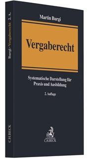 Vergaberecht   Burgi   2. Auflage, 2018   Buch (Cover)