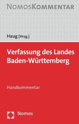 Verfassung des Landes Baden-Württemberg   Haug (Hrsg.), 2018   Buch (Cover)
