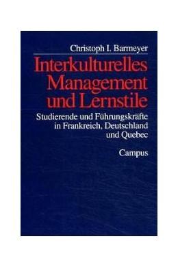 Abbildung von Barmeyer   Interkulturelles Management und Lernstile   2000   Studierende und Führungskräfte...   25