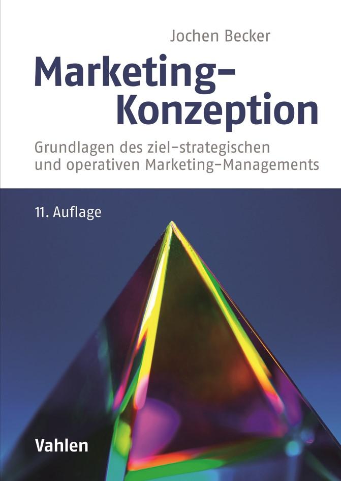 Marketing-Konzeption | Becker | 11., aktualisierte und ergänzte Auflage, 2018 | Buch (Cover)