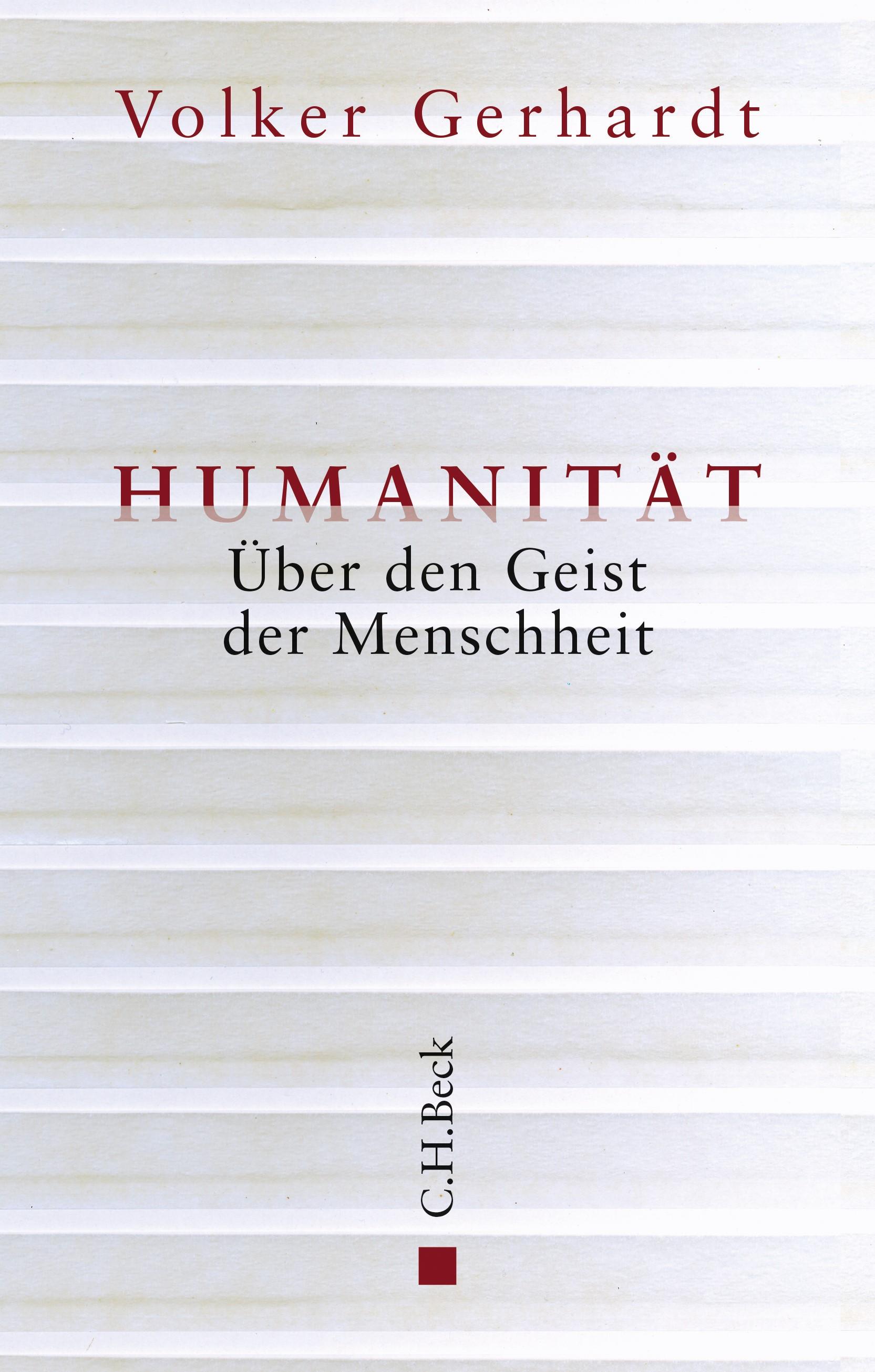 Humanität | Gerhardt, Volker, 2019 | Buch (Cover)