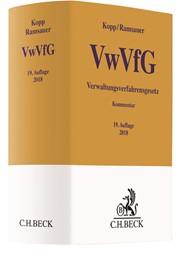 Verwaltungsverfahrensgesetz: VwVfG | Kopp / Ramsauer | 19., vollständig überarbeitete Auflage, 2018 | Buch (Cover)