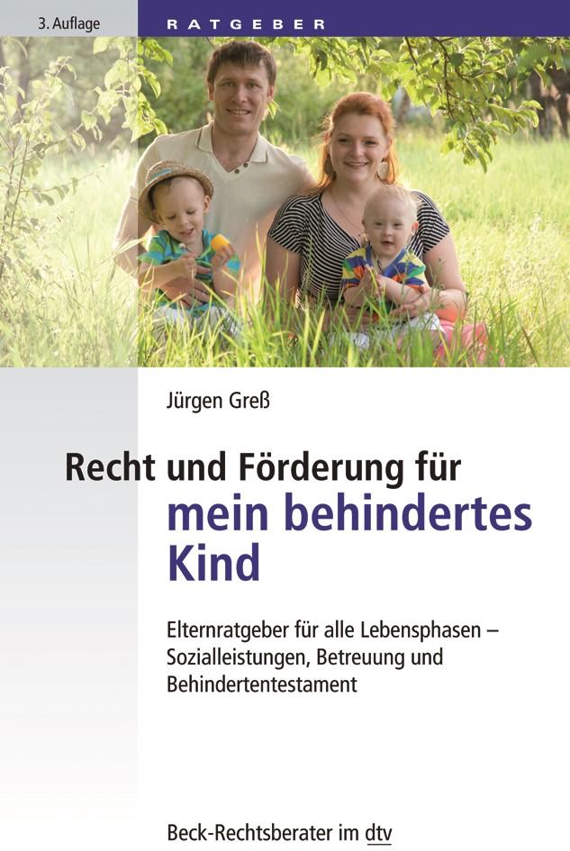 Recht und Förderung für mein behindertes Kind | Greß | 3. Auflage, 2018 | Buch (Cover)