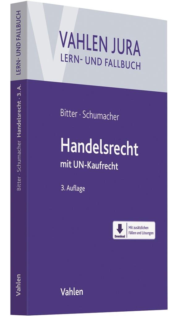 Handelsrecht   Bitter / Schumacher   3., neu bearbeitete Auflage, 2018   Buch (Cover)