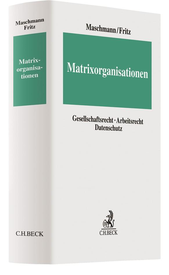 Matrixorganisationen | Maschmann / Fritz, 2018 | Buch (Cover)