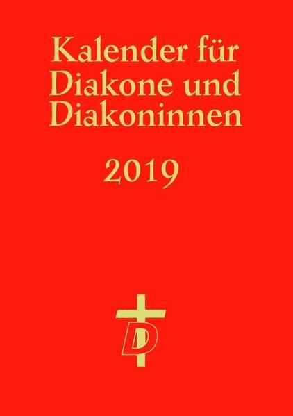 Kalender für Diakone und Diakoninnen 2019, 2018 (Cover)