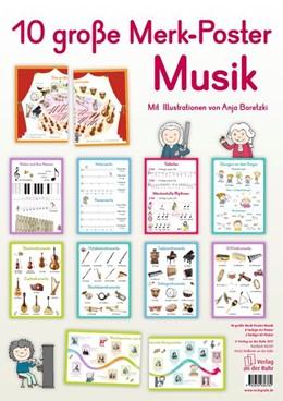 Abbildung von 10 große Merk-Poster Musik | 2017