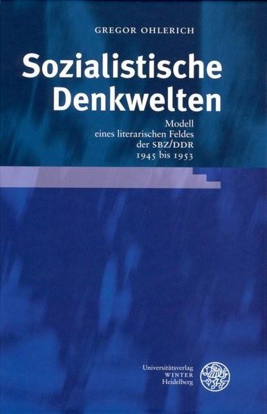 Sozialistische Denkwelten   Ohlerich, 2005   Buch (Cover)