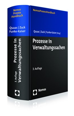 Abbildung von Quaas / Zuck | Prozesse in Verwaltungssachen | 3. Auflage | 2018 | beck-shop.de