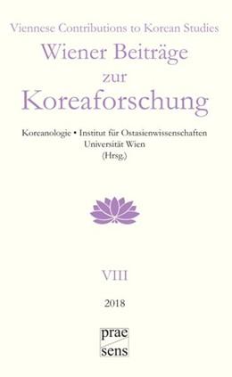 Abbildung von Wiener Beiträge zur Koreaforschung   2018