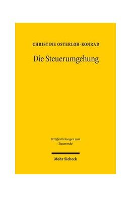 Abbildung von Osterloh-Konrad | Die Steuerumgehung | 1. Auflage | 2020 | beck-shop.de