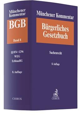 Abbildung von Münchener Kommentar zum Bürgerlichen Gesetzbuch: BGB, Band 8: Sachenrecht | 8. Auflage | 2020 | beck-shop.de