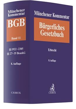 Abbildung von Münchener Kommentar zum Bürgerlichen Gesetzbuch: BGB, Band 11: Erbrecht, §§ 1922-2385, §§ 27-35 BeurkG | 8. Auflage | 2020