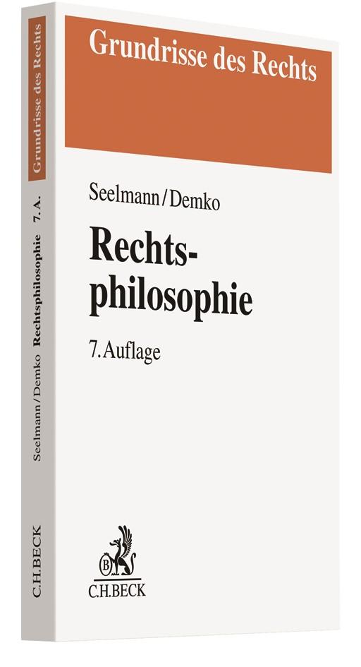 Rechtsphilosophie | Seelmann / Demko | 7., überarbeitete Auflage, 2019 | Buch (Cover)
