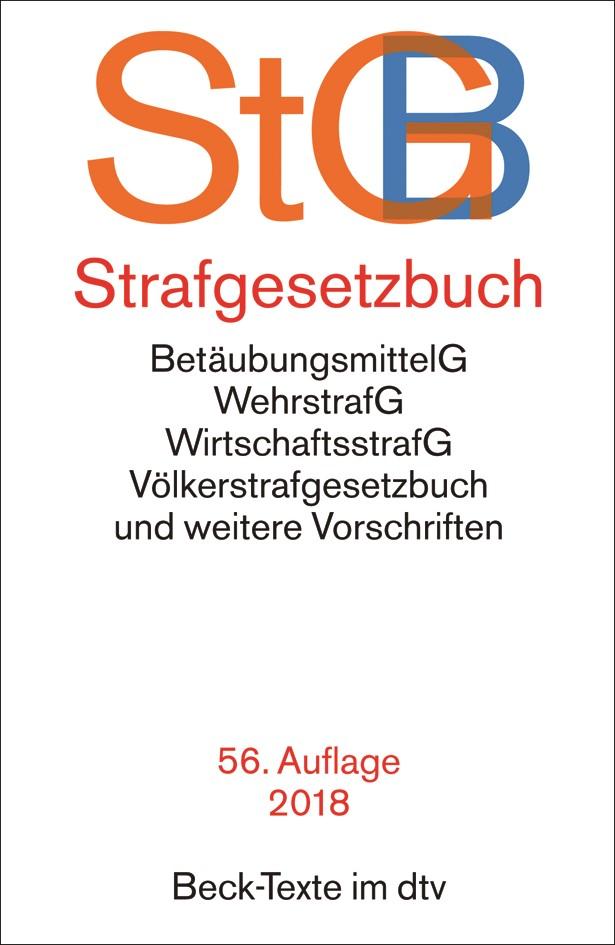 Strafgesetzbuch: StGB | 56. Auflage, 2018 | Buch (Cover)