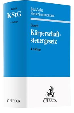Abbildung von Gosch | Körperschaftsteuergesetz: KStG | 4. Auflage | 2020