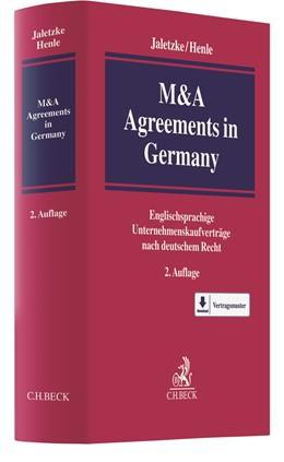 Abbildung von Jaletzke / Henle   M&A Agreements in Germany   2. Auflage   2020   beck-shop.de