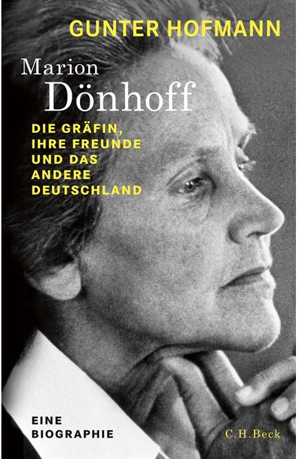 Cover: Gunter Hofmann, Marion Dönhoff
