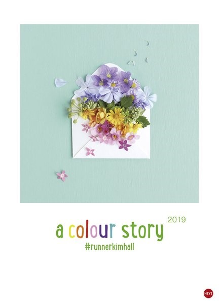 a colour story - Kalender 2019, 2018 (Cover)