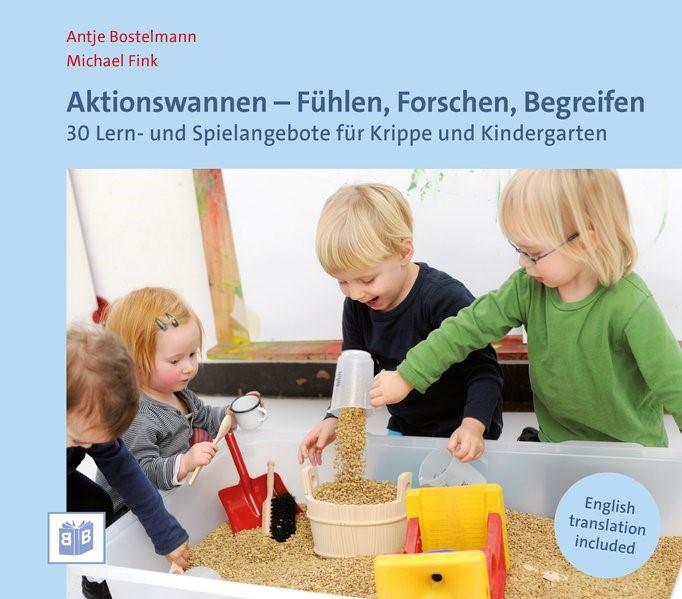 Aktionswannen - Fühlen, Forschen, Begreifen | Bostelmann / Fink, 2018 | Buch (Cover)