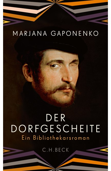 Cover: Marjana Gaponenko, Der Dorfgescheite