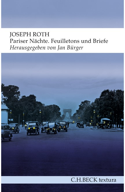 Cover: Joseph Roth, Pariser Nächte