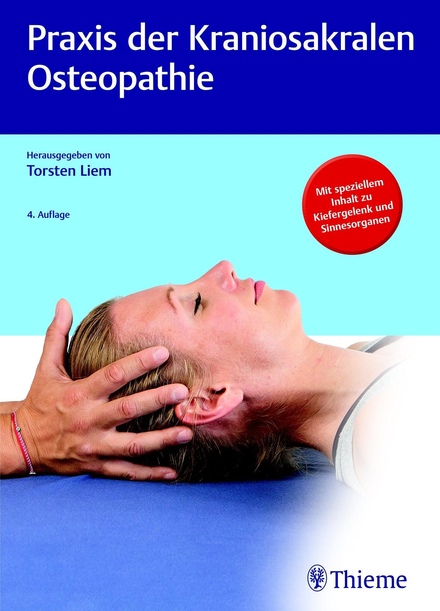 Praxis der Kraniosakralen Osteopathie   Liem   4., überarbeitete und erweiterte Auflage, 2019   Buch (Cover)