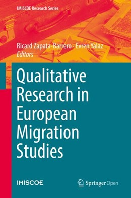 Abbildung von Zapata-Barrero / Yalaz | Qualitative Research in European Migration Studies | 2018