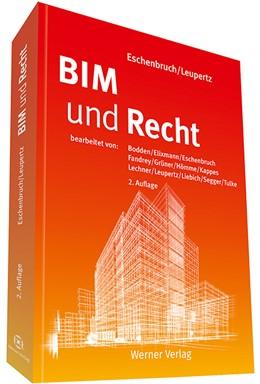 Abbildung von Eschenbruch / Leupertz (Hrsg.) | BIM und Recht | 2. Auflage | 2019