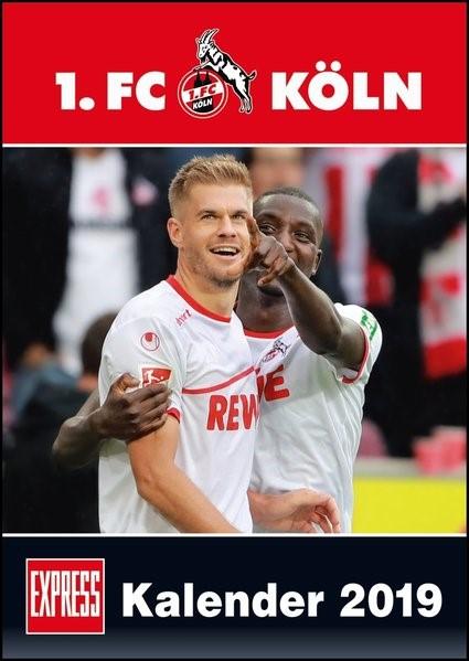 1. FC Köln 2019 Wandkalender, 2018 (Cover)
