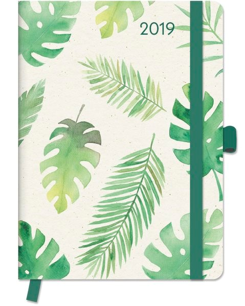 2019 Floral GreenLine Diary, 2018 | Buch (Cover)