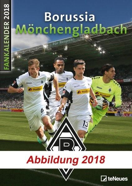 Borussia Mönchengladbach Fankalender 2019, 2018 (Cover)