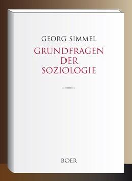 Abbildung von Simmel | Grundfragen der Soziologie | 1. Auflage | 2018 | beck-shop.de