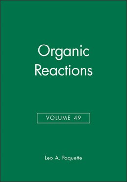 Abbildung von Paquette | Organic Reactions | 1996 | Volume 49 | 49