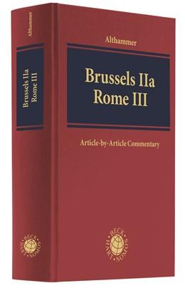 Abbildung von Althammer | Brussels IIa - Rome III | 2019
