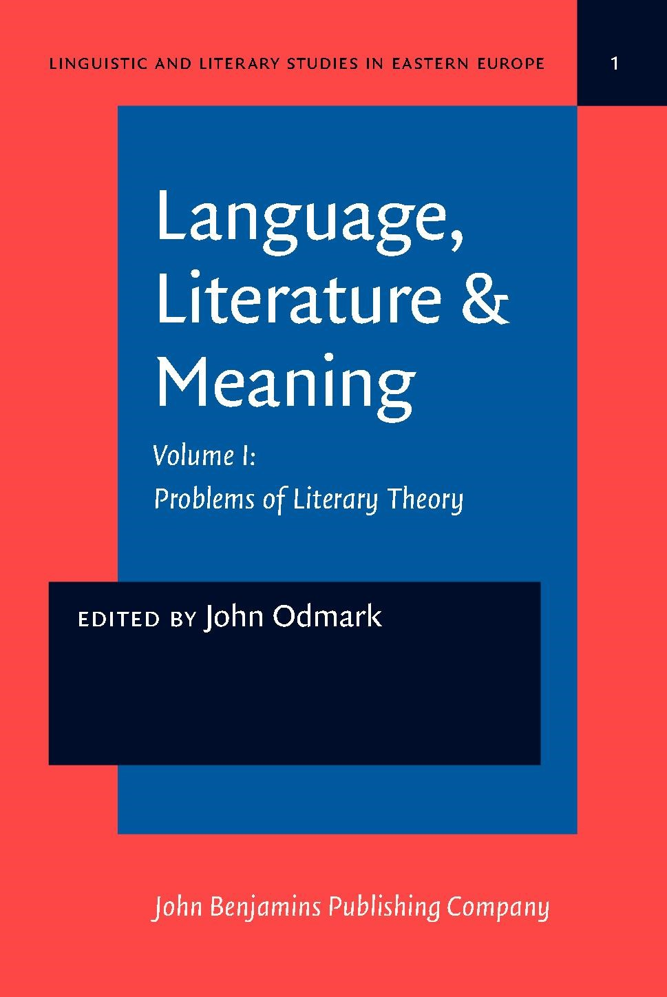 Language Literature Meaning Odmark 1979 Buch Beck Shopde