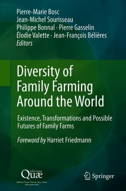 Diversity of Family Farming Around the World | Bosc / Sourisseau / Bonnal / Gasselin / Valette / Bélières, 2018 | Buch (Cover)