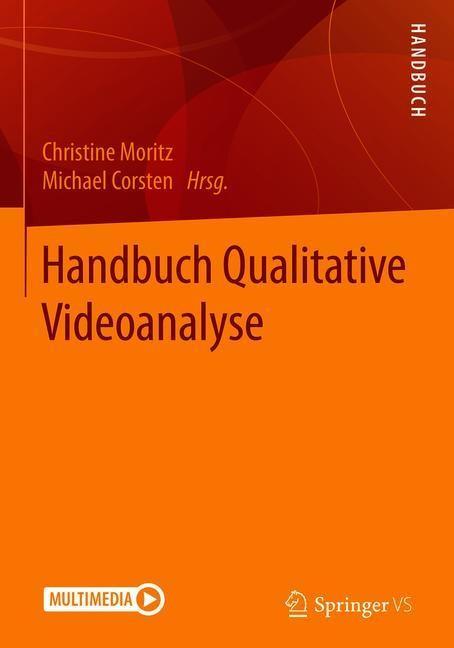 Handbuch Qualitative Videoanalyse | Moritz / Corsten, 2018 | Buch (Cover)