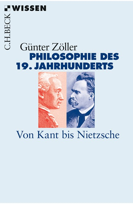 Cover: Günter Zöller, Philosophie des 19. Jahrhunderts