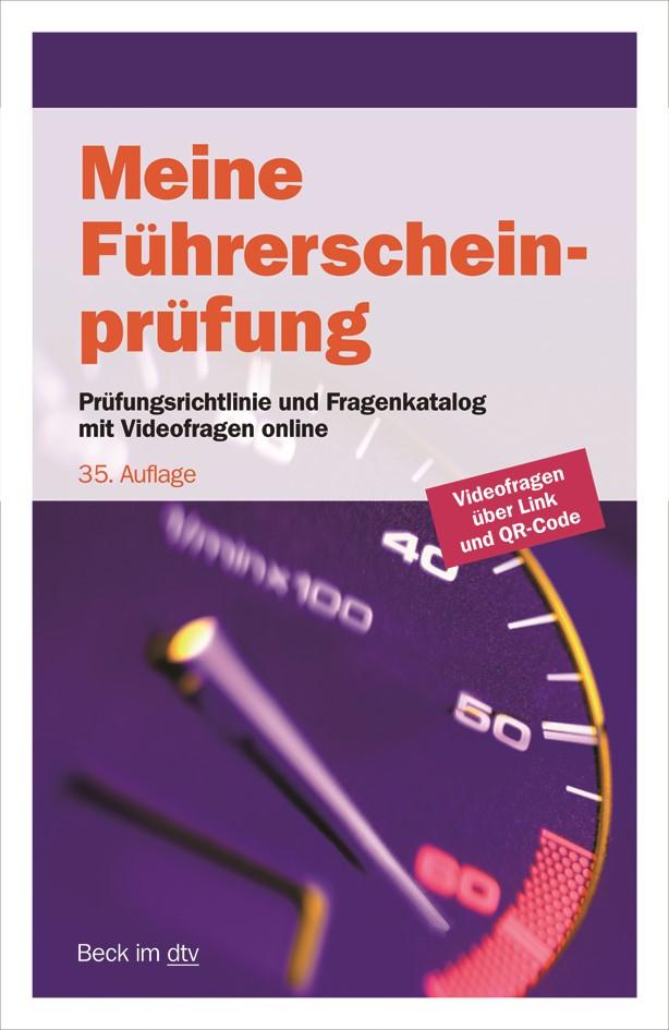 Meine Führerscheinprüfung | 35., veränderte Auflage, 2018 | Buch (Cover)