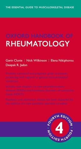 Abbildung von Clunie / Wilkinson | Oxford Handbook of Rheumatology | 4. Auflage | 2018 | beck-shop.de