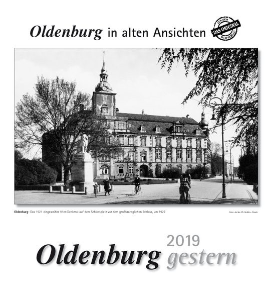 Oldenburg gestern 2019, 2018 (Cover)