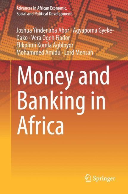 Abbildung von Abor / Gyeke-Dako / Fiador | Money and Banking in Africa | 2019