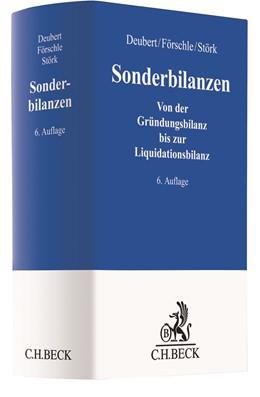 Abbildung von Deubert / Förschle | Sonderbilanzen | 6. Auflage | 2021 | beck-shop.de