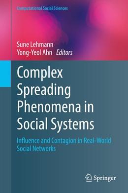 Abbildung von Ahn / Lehmann   Complex Spreading Phenomena in Social Systems   1. Auflage   2018   beck-shop.de