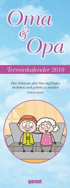 Oma und Opa 2019 - Monatskalender, 2018 (Cover)