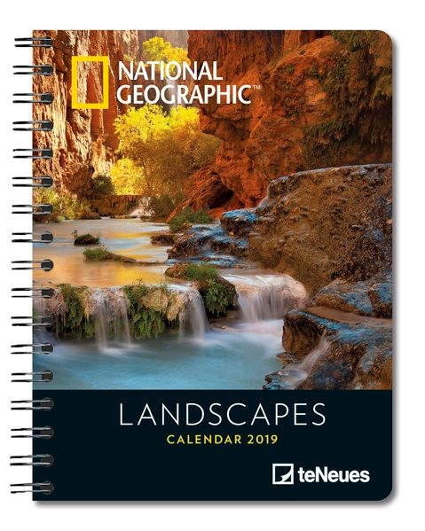 2019 Nat Geog Landscapes Deluxe Diary, 2018 | Buch (Cover)