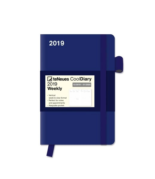 2019 Blue/Blue Cool Diary, 2018 | Buch (Cover)